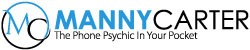 Manny Carter, Phone Psychic Readings